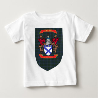 Kirkpatrick Kilpatrick crest on Douglas Shield Baby T-Shirt