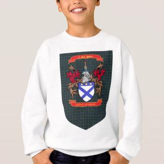Kirkpatrick Kilpatrick crest on Douglas Shield Sweatshirt