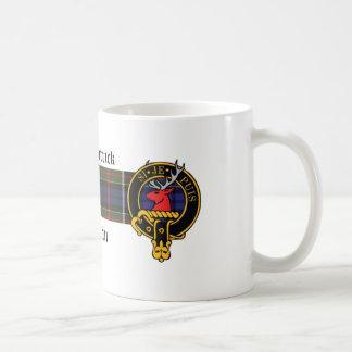 Kirkpatrick Scottish Crest and Tartan mug