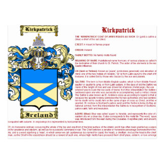 Kirkpatrick (significado (Irlanda)) Tarjetas Postales