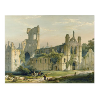 Kirkstall Abbey from the North West, from 'The Mon Postcard