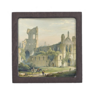 Kirkstall Abbey from the North West, from 'The Mon Premium Trinket Box