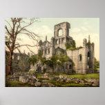 Kirkstall Abbey, Leeds, Yorkshire, England Poster
