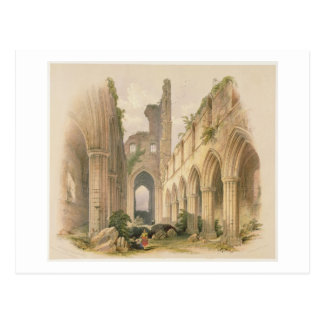 Kirkstall Abbey, the Nave and Choir, from 'The Mon Postcard