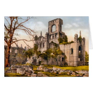 Kirkstall Abbey West Yorkshire England Note Card