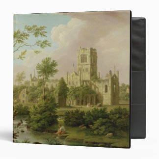Kirkstall Abbey, Yorkshire, 1747 (oil on canvas) 3 Ring Binder