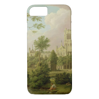 Kirkstall Abbey, Yorkshire, 1747 (oil on canvas) iPhone 7 Case