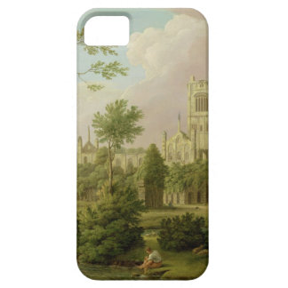 Kirkstall Abbey, Yorkshire, 1747 (oil on canvas) iPhone SE/5/5s Case
