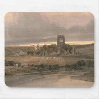 Kirkstall Abbey, Yorkshire - Evening Mouse Pad