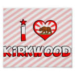 Kirkwood, CA Impresiones