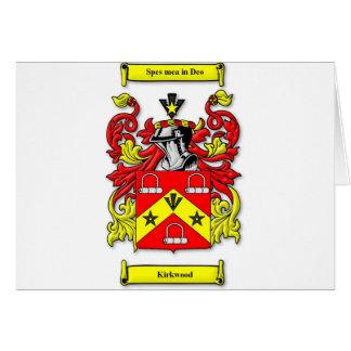 Kirkwood Coat of Arms Card