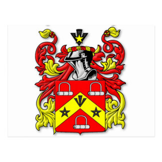 Kirkwood Coat of Arms Postcard