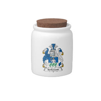 Kirkwood Family Crest Candy Dish