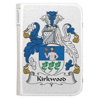 Kirkwood Family Crest Kindle Cover