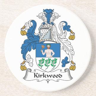 Kirkwood Family Crest Beverage Coasters