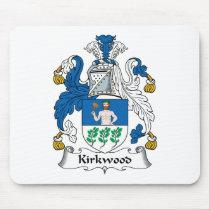 Kirkwood Family Crest Mousepad