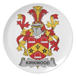 Kirkwood Family Crest Dinner Plate