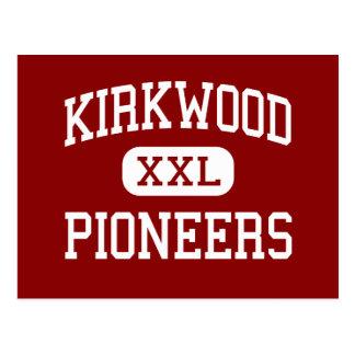 Kirkwood - Pioneers - High - Kirkwood Missouri Postcard