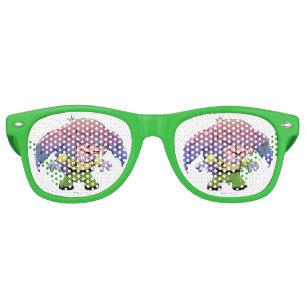 06322e9301d KIRKY FUNNY ALIEN Party Shades Sunglasses