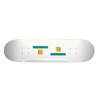 Kirov Region, Russia Skateboard Deck