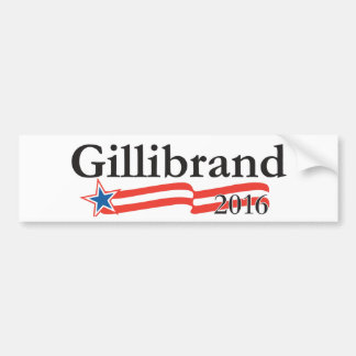 Kirsten Gillibrand para el presidente 2016 Pegatina De Parachoque