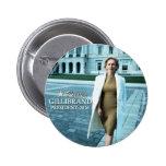 Kirsten Gillibrand para el presidente 2016 Pin