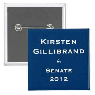 Kirsten Gillibrand para el senado Pin
