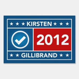 Kirsten Gillibrand Yard Sign