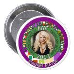Kirstin Davis for NYC Mayor in 2013 Pinback Button