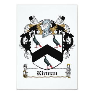 Kirwan Family Crest Custom Invites