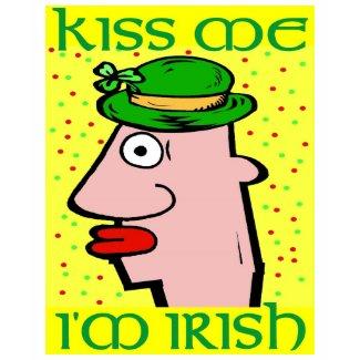 Kis Me I'm Irish Head shirt