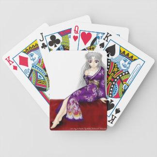 Kisa in Kimono Playing Cards