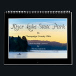 """Kiser Lake St Park 2019 Calendar by Tom Minutolo<br><div class=""""desc"""">One of my favorite places in Champaign County Ohio to photograph is Kiser Lake State Park. I hope that you like these photos!</div>"""