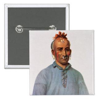 Kish-Kal-Wa, jefe del Shawnee Pins