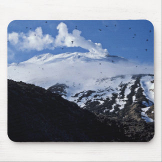 Kiska Island volcano and auklet colony Mouse Pad