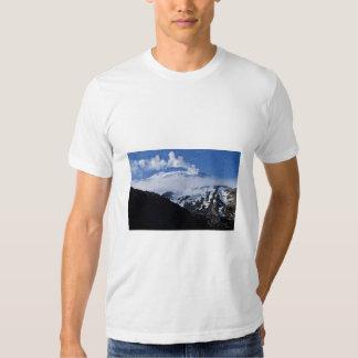 Kiska Island volcano and auklet colony T Shirt