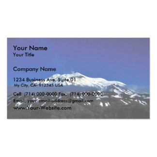 Kiska Island Volcano Double-Sided Standard Business Cards (Pack Of 100)
