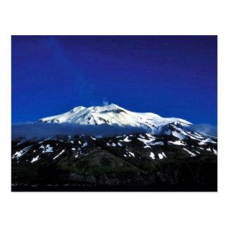 Kiska Island Volcano Postcard