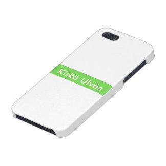 KISKA ULVAN green color Bill logo Cover For iPhone SE/5/5s