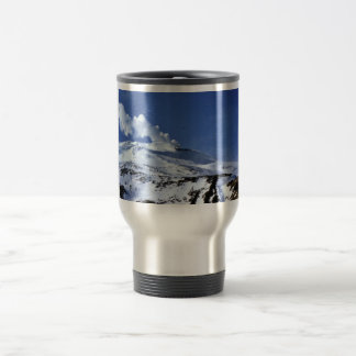 Kiska volcano, Sirius Point, Kiska Island, Alaska 15 Oz Stainless Steel Travel Mug