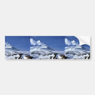 Kiska volcano, Sirius Point, Kiska Island, Alaska Car Bumper Sticker