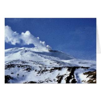 Kiska volcano, Sirius Point, Kiska Island, Alaska Greeting Card