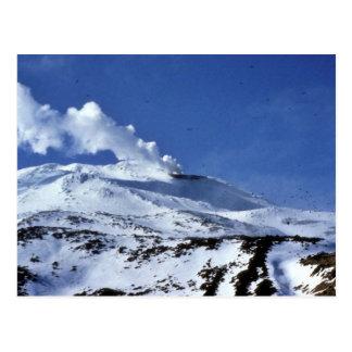 Kiska volcano, Sirius Point, Kiska Island, Alaska Postcard