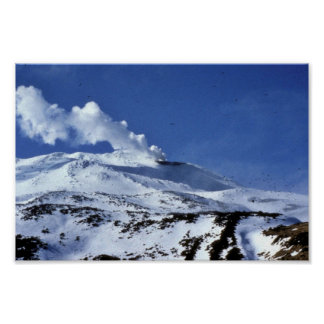 Kiska volcano, Sirius Point, Kiska Island, Alaska Poster