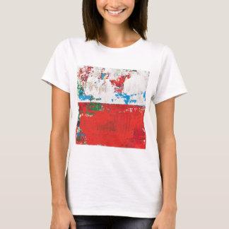 Kismet Abstract Landscape Red Art McNulty T-Shirt