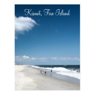 Kismet, postal de la isla del fuego