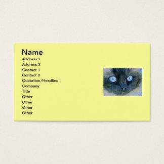 Kismet the Ragdoll Cat Business Card