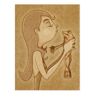 Kiss 3 postcard