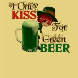 Kiss 4 Beer - St Patrick's shirt