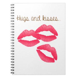 kiss-979167 HUGS AND KISSES LIPS KISS FLIRTING FRI Notebook